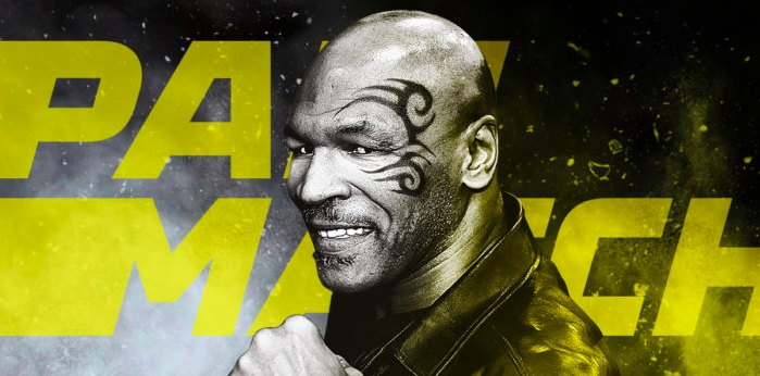 Mike Tyson for PariMatch betting club