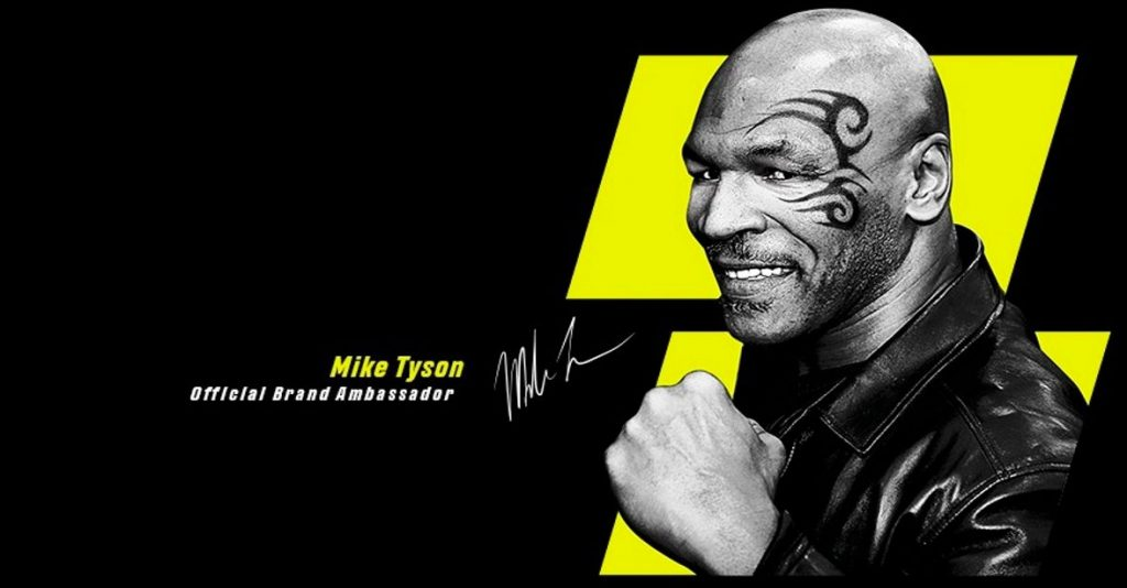 Mike Tyson - official brand ambassador PariMatch